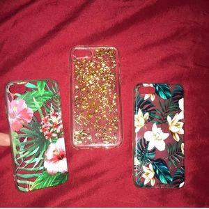 THREE NEW IPhone 7 / IPhone 8 phone cases